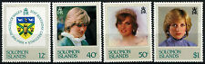 Solomon Islands 1982 SG#467-470, 21st Birthday Princess Of Wales MNH Set #D36447