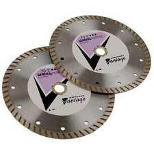 DIAMOND VANTAGE 0408CDZBY1-2 Diamond Saw Blade,Dry,Turbo Rim,4 In Dia