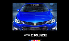 "Chevrolet Cruze Chevy 23"" Windshield Banner Sticker Decal"
