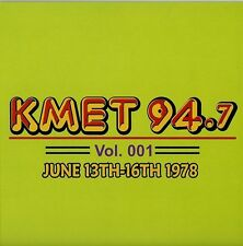 KMET 94.7 ~ 2 CD Set ~ Vol 001 JUNE 1978 ~ Mini Lp/cd Radio Aircheck ~ BRAND NEW
