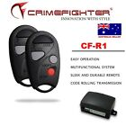 CRIMEFIGHTER CF-R1 Universal Basic Keyless Entry One Way Car Alarm System