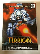 Turrican - Sega Genesis - Replacement Case - No Game