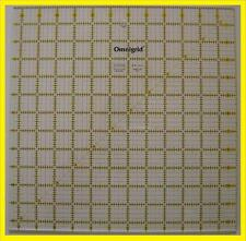Omnigrid Yellow & Black 12 1/2 inch x 12 1/2 inch Square Ruler for Quilting