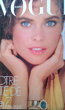 VOGUE PARIS 1981 Carol Alt Jerry Hall Mick Jagger Helmut Newton Gia Carangi