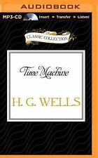 Time Machine by H. G. Wells (2015, MP3 CD, Unabridged)
