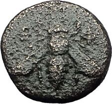Ephesos Ephesus in Ionia 390BC Bee Stag Authentic Ancient Greek Coin i59538
