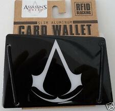 Assassins Creed Slim Aluminum Rfid Blocking Card Wallet