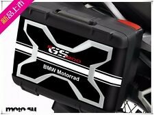 BMW Motorrad Black White R1200GS LC 13-16 Box Case Cover Protector Sticker Decal