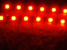 ORANGE 5050 SMD LED STRIPS PAIR OF 6 LED STRIPS FITS CARS MOTORCYCLES & BOATS