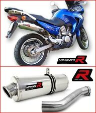 DOMINATOR Exhaust OVAL HONDA XL 650 TRANSALP 01-07 + DB KILLER