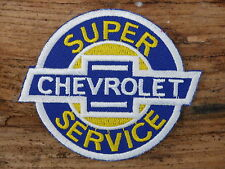 ECUSSON PATCH THERMOCOLLANT aufnaher toppa CHEVROLET super service / 8.5CMX7.5CM