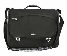Tumi T3 TRACER Black Nylon Laptop Briefcase Computer Case Pre-Owned