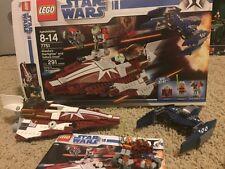 LEGO Star Wars the Clone Wars 7751 Ahsoka's Starfighter and Vulture Droid 100%