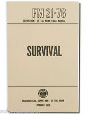 NEW - US Army SURVIVAL Book Tactical Manual   FM 21-76 Paperback Emergency Field