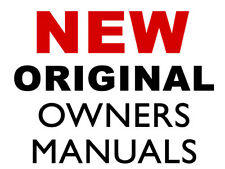 2004 Oldsmobile SILHOUETTE New Car Owners Manual