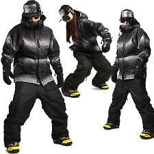 SOUTHPLAY COLLECTION Wasserdichte Ski Snowboard Jumper Anzüge Jacke + Hose K02