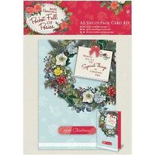 docrafts Papermania Pocket Full of Posies A5 Decoupage Card Kit - 519366