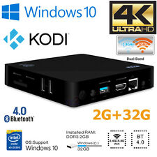 Z83II Smart TV Box Mini PC Intel Atom x5 Quad Core Windows 10 2GB 32GB Dual WiFi