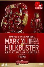 Artist Mix Figures Mark XLIII (Battle Damaged Version) & Hulkbuster (Deluxe Set)