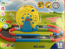 Magic Track Ferris Wheel Racing Car Track Battery Operated Cars Race Kids Toy