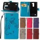 New for Samsung Embossed Flip Leather Wallet Card Slot Stand Skin Case Cover