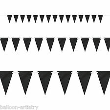 9ft Halloween Nero CHALK BOARD PENNANT FLAG BANNER Bunting Partito Decorazione