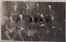 WW1 Soldier Group No 5 Shop ASC Army Service Corps Bulford Camp 1918