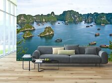 Halong Bay, Vietnam Mural Photo Wallpaper Decor Paper Wall Background 3D