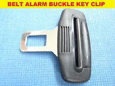 SUBARU BLACK SEAT BELT ALARM BUCKLE KEY CLIP SAFETY CLASP STOP