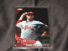 ROY HALLADAY PHILLIES LEGEND GENUINE AUTHENTIC BASEBALL CARD CHROME REFRACTOR