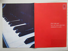 3/2004 PUB CFM SNECMA GENERAL ELECTRIC CFM56 PIANO CLAVIER ORIGINAL AD