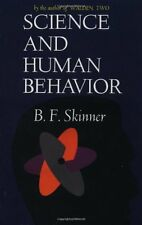 Science And Human Behavior by B.F Skinner, (Paperback), Free Press , New, Free S