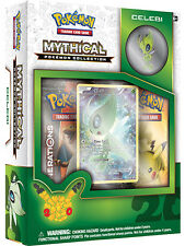 POKEMON CELEBI MYTHICAL COLLECTION BOX - GENERATIONS BOOSTER PACKS + PIN + PROMO