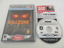KILLZONE - SONY PLAYSTATION 2 - JEU PS2 PLATINUM COMPLET