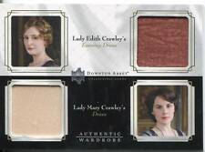 DOWNTON ABBEY SAISON 1&2 DOUBLE GARDE-ROBE CARTE LADY EDITH / CORA CRAWLEY DW01