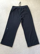 Lululemon Women's Be Still Pants Black Size 10/  34 Waist, Inseam 30 EUC