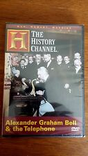 ALEXANDER GRAHAM BELL & THE TELEPHONE (HISTORY CHANNEL) RARE COVER NEW/SEAL