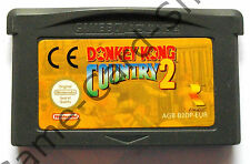 Game Boy Advance-Donkey Kong Country 2-seulement module-d' occasion