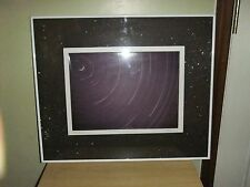 Vintage Space Stars Framed Photo 8 Hour Exposure Julian Button 1972