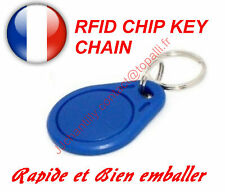 Lot de 2 x RFID 13.56MHz Writable Rewrite RFID Transponder Key Tags Keyfobs
