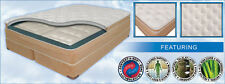 """12"""" QUEEN AIR BED MATTRESS SET w/ 3"""" LATEX PILLOWTOP & 50 NUMBER REMOTE CONTROLS"""