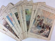 25 vintage sunday school take home papers 1930s Jesus angels children church