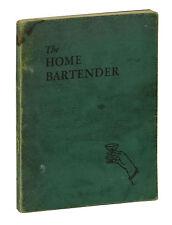 The Home Bartender ~ E. R. Thomas Bensen Vintage Cocktail Bar Mixing Guide 1946
