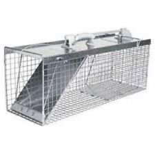 NEW HAVAHART USA MADE 1085 LARGE 32X12X10 EASY SET LIVE COON ANIMAL TRAP CAGE