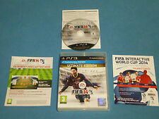 FIFA 14 (2014) Ultimate Edition > partita di calcio per PS3 * Completo * gratis UK P & P