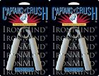 2 Ironmind Captains of Crush CoC grippers hand strength 167.5lb No1.5/195lb no2