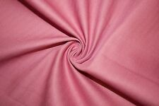 Rose Cotton Stretch Twill #12 Bottom Weight Spandex Lycra Fabric BTY