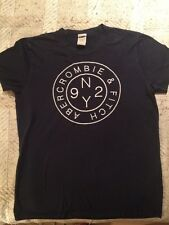 Abercrombie and fitch t-shirt foncé, taille l