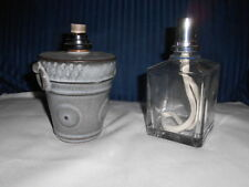 LOT OF 2 Lampe Berger Catalytic Fragrance Oil Lamp and Jar