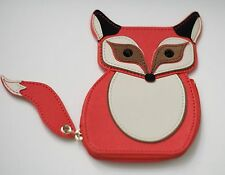 Kate Spade Fox Coin Purse Wallet Blaze A Trail Cute Zipper NEW